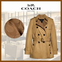 ★COACH★Signature Lapel Short★トレンチコート