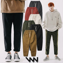 ★WV PROJECT★日本未入荷 韓国 Plain cotton banding pants