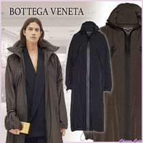 【20AW NEW】BOTTEGA VENETA_women/ 防水ナイロンコート/Truffle