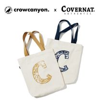 CROW CANYON HOME(クロウキャニオンホーム) エコバッグ 大人気コラボ★CCH X COVERNAT★ECO BAG 全2色
