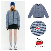 【KIRSH】20fw CHERRY GINGHAM CHECK QUILTING JACKET 単品