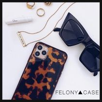 FELONY CASE(フェロニーケース) iPhone・スマホケース 【FELONY▲CASE】Classic Tortoise iphone case◆べっ甲柄