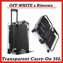 OFF-WHITE x Rimowa Transparent Carry-On 36L Case Clear
