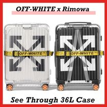 OFF-WHITE Rimowa See Through 36L Case Black White FW 18