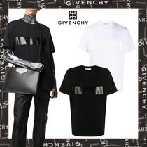 20AW【GIVENCHY直営店】バンド付きGIVENCHY Tシャツ