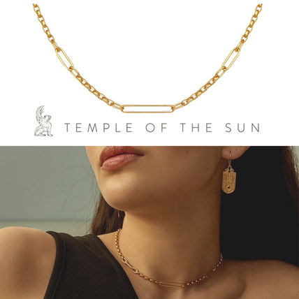 【TEMPLE OF THE SUN】Niki Necklace Gold ゴールド ネックレス