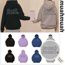 ★20-21FW新作★MUAHMUAH★POINT LOGO NAPPING HOODIE_4色