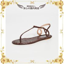 ★関税込★Almost Bare Sandal Flats