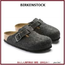 【BIRKENSTOCK】BOSTON WOOL FELT NARROW スリッパ
