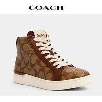 2020NEW♪ COACH ◆ clip high top sneaker