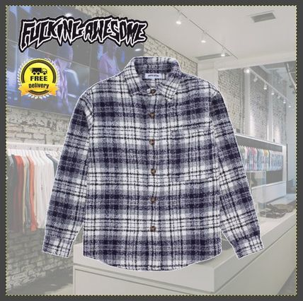 【国内発送】送関込/Fucking Awesome/Heavy Flannel Over Shirt
