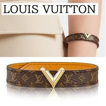 """【LOUIS VUITTON】""""ESSENTIAL V""""モノグラム☆ブレスレット/brown"""