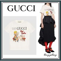 "VIP価格!【GUCCI】GUCCI ""Mad Cookies"" プリント Tシャツ"