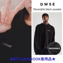 【DWSE】Reversible Black Sweater ★BTS JUNGKOOK着用品★