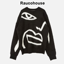 RAUCOHOUSE Drawing Heavy Warm Knit