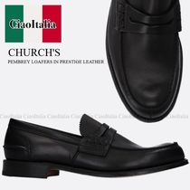 CHURCH'S PEMBREY LOAFERS IN PRESTIGE LEATHER