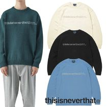 ★thisisneverthat★SP-INTL. Sweater 4色