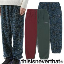 ★thisisneverthat★DSN Fleece Pant 2色