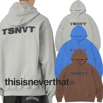 ★thisisneverthat★Radial B hooded Jersey 3色