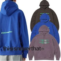 ★thisisneverthat★Universe hooded Sweatshirt 3色