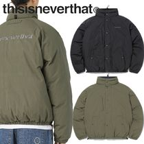 ★thisisneverthat★DSN Down Puffer Jacket 2色