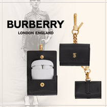 【BURBERRY】20AW新作 シルクレザーAirPods Proケース