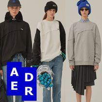 ★Adererror★Sewing crumple sweatshirt 3色
