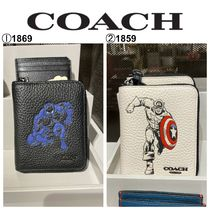 【COACH×MARVEL】☆期間限定コラボ☆Medium Zip Around Wallet