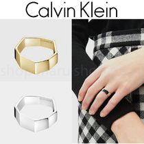 Calvin Klein◆ORIGAMI 2020AW新作 リング Silver Gold 2色