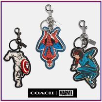 COACH☆限定商品☆ Marvelコラボ バッグチャーム☆送料込