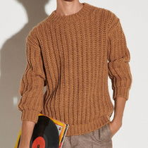 """""""sandro homme"""" Chunky knit sweater Camel"""