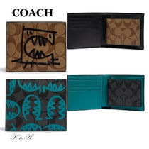 【COACH】3-In-1 Wallet In Signature Canvas*限定