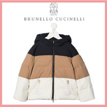☆送料関税込☆BRUNELLO CUCINELLI Color block down jacket