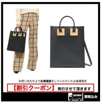 576【Sophie Hulme】Albion レザー トートバッグ