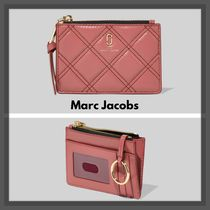 ☆Marc Jacobs☆The Soft Shot キルト生地マルチウォレット pink