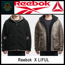 [Reebok X LIFUL]REVERSIBLE SHERPA JACKET☆大人気☆日本未入荷
