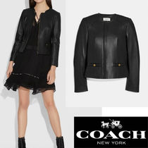 【Coach】SALE!!Tailored Leather Jacket☆レザージャケット☆