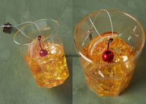 Old Fashioned Cocktail Ornament