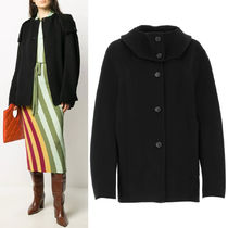 M659 HOODED CASHMERE COAT