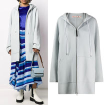 M660 HOODED WOOL CASHMERE COAT