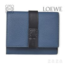 LOEWE★ロエベ Trifold wallet in soft grained calfskin
