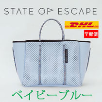 【State of Escape】Petite Escape Tote/ベイビーブルー/追跡込