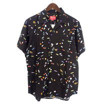 Supreme SS17 Pills Rayon Shirt (Supremeステッカー付き)