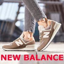 ◆New Balance◆ suede WL574SYL アース ブラウン