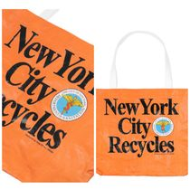 ONLY NY NYC Recycles Reusable Shopping バッグ 関税送料無料