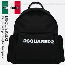 DSQUARED2  Dsquared2 print nylon backpack