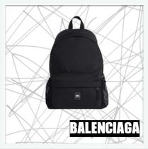 【BALENCIAGA】メンズ★WEEKEND BACKPACK WITH BOTTLE HOLDER