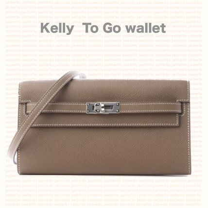 *HERMES*Kelly wallet To Go /エトープ x PHW