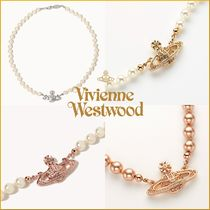 Vivienne Westwood(ヴィヴィアンウエストウッド) ネックレス・ペンダント 新作★vivienne westwood★MINI BAS RELIEF パールチョーカー
