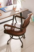 《UO》Foster Leather Desk Chair オフィスチェア/椅子